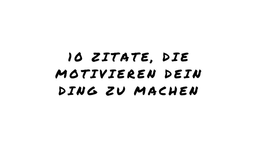 Motivationszitate
